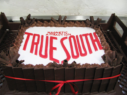 True South corporate event cake