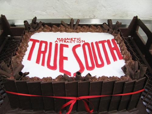 True South corporate event cake