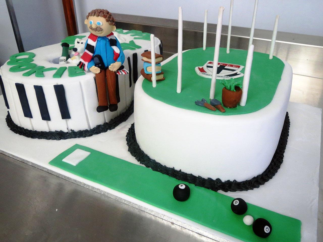 80th Birthday Cake Three Sweeties