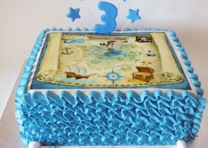 treasure-map-birthday-cake