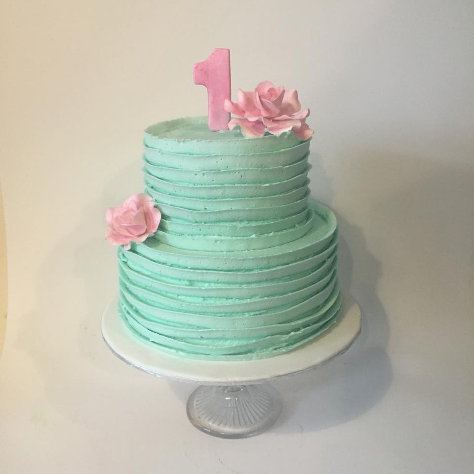 Pretty Pastel Buttercream Cake Three Sweeties