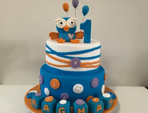 Giggle And Hoot Cake Decorations