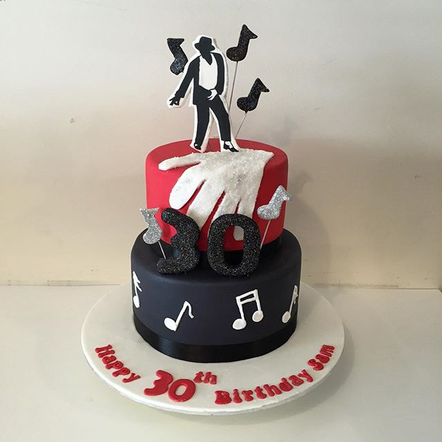 Fantastic Michael Jackson Cake Three Sweeties Funny Birthday Cards Online Alyptdamsfinfo