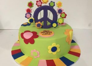 hippy_peace_birthday_cake