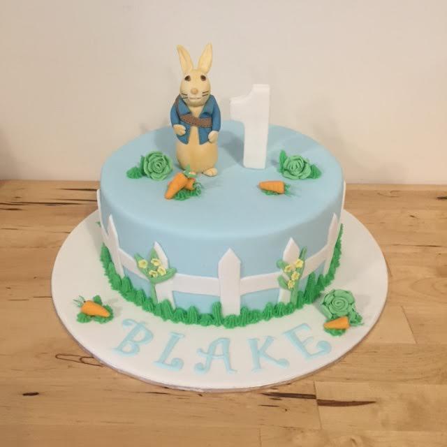 Peter Rabbit Birthday Cake Three Sweeties