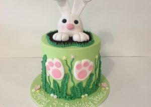 Bunny Rabbit Birthday Cake And Cupcakesthree Sweeties2016 07 04T134535 1000