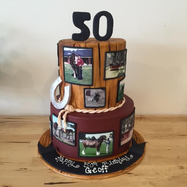 Amazing Horse Themed 50Th Birthday Cake Three Sweeties Funny Birthday Cards Online Alyptdamsfinfo