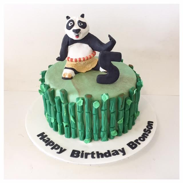 Brilliant Kung Fu Panda Cake Three Sweeties Funny Birthday Cards Online Alyptdamsfinfo