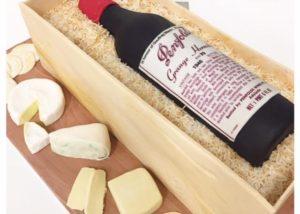 wine_bottle_grange_hermitage_birthday_cake