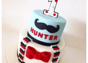 little_man_first_birthday_cake