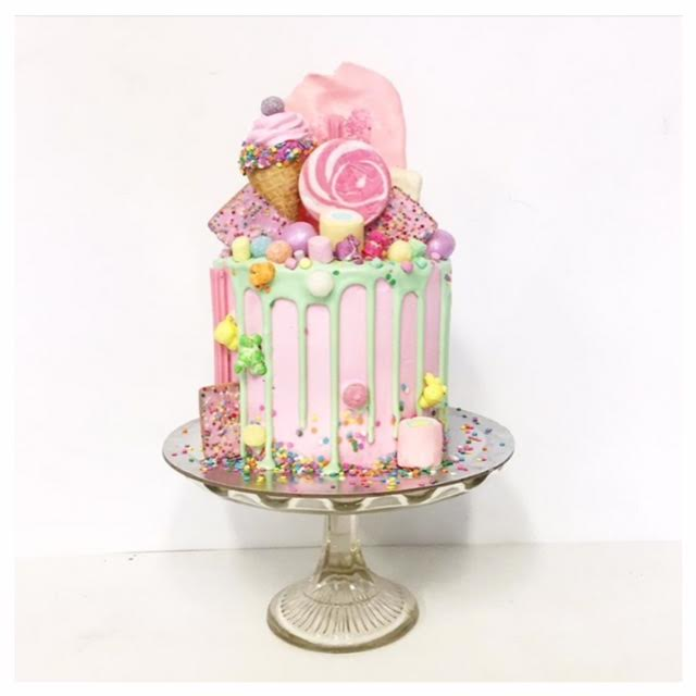 Decorated Lolly Cake
