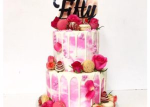 pink_marbled_50th_drip_drizzle_cake