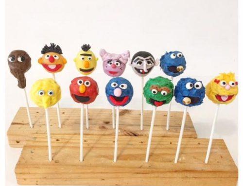 Sesame Street cake pop characters