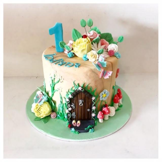 Fairy Garden Cake Three Sweeties