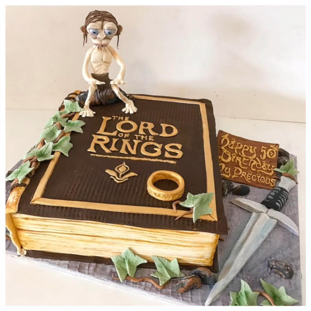 Groovy Lord Of The Rings Cake Three Sweeties Birthday Cards Printable Giouspongecafe Filternl