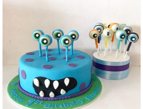 Monster Cake & cake pops