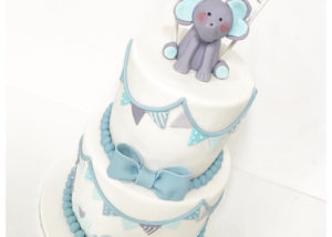blue_grey_white_baby_shower_cake