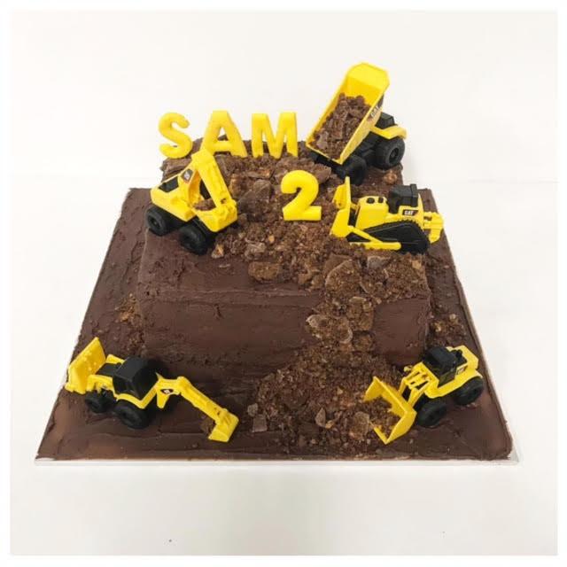 Chocolate Digger Cake Three Sweeties